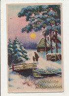 JOYEUX NOEL ALLEMAGNE FROHLICHE WEIHNACHTEN - Natale