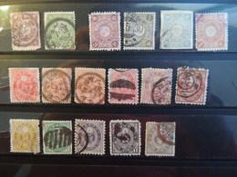 Giappone _ Periodo 1872-1892 -Lotto Usati - Japon