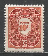 Cameroun 1947. Scott #J24 (M) Numeral Of Value * - Cameroun (1915-1959)
