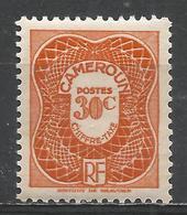 Cameroun 1947. Scott #J25 (M) Numeral Of Value * - Cameroun (1915-1959)