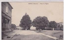 Charente - Aunac - Place De L'Eglise - Chateauneuf Sur Charente