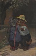 Arthur Thiele  :  Bonne Année   (  Chat - Cat - Kat )    T.S.N.  Serie 1646 - Thiele, Arthur