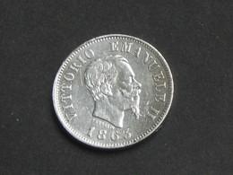 50 Centesimi 1863 M BN - ITALIE - Victorio Emanuele II - Regno D'Italia  **** EN ACHAT IMMEDIAT **** - 1861-1946 : Kingdom