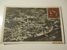 FLIEGERAUFNAHME STOCKERAU 1933 TO ESTONIA  , OLD POSTCARD ,0 - Stockerau