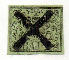 ASI184b - PONTIFICIO 1852, 2 Baj Usato - Estados Pontificados