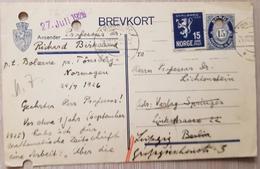 Norway Norge Tønsberg 1926 - Norway