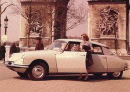 Citroen ID 19  -  1955     -   Carte Postale - Turismo