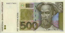 Croatie 500 Kuna (P34) 1993 -UNC- - Croatie