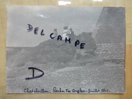 17 CHATELAILLON - ROCHER DES ANGLAIS 1911 - PHOTO - Châtelaillon-Plage