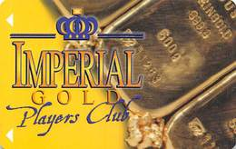 Imperial Casino Cripple Creek, CO - BLANK 2nd Issue Slot Card - Large Imperial On Front - Casino Cards
