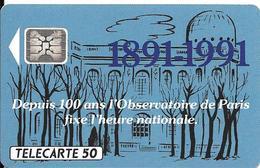 CARTE°-50U-PUCE -F 175.540-SC4-Trou 6-HORLOGE PARLANTE-V°5 N°Imp 29777-Utilisé- TBE- - France