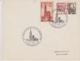 ENVELOPPE XX° ANNIVERSAIRE DE LA LIBERATION DE STRASBOURG - Alsace-Lorraine