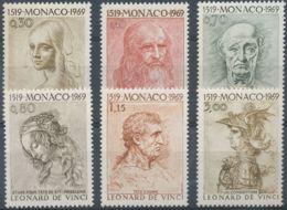 [44873]N° 799/04, 450ème Anniversaire De La Mort De Léonard De Vinci - Monaco