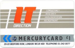 MERCURY : MER034 1 IT Directions USED - Royaume-Uni