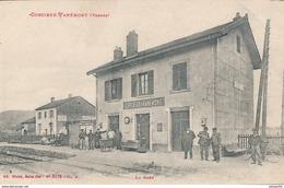 88) CORCIEUX - VANEMONT  : La Gare - Corcieux