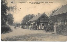 TANCREMONT (4860) Café Des Pélerins ( Boite Aux Lettres Et Route Vers La Chapelle ) - Pepinster
