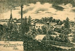 Thiaucourt Regniéville CPA CP 54 Meurthe Et Moselle  Carte Postale Reproduisant Un Dessin De Cölfen ? - Sonstige Gemeinden