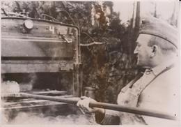 BACKER FELDBACKEREI AM ARBEIT BAKKER COCINA  FOTO DE PRESSE WW2 WWII WORLD WAR 2 WELTKRIEG Aleman Deutchland - Métiers