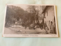 CPA 9/14  LA FRASNEE  Entrée Du Village - France