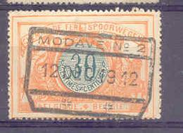 B733 Belgie Spoorwegen Met Stempel MODAVE - Chemins De Fer