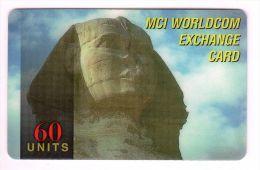 EGYPTE MCI WORLDCOM ANNEE 2001 - Egypte