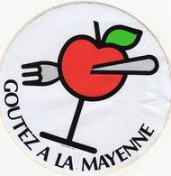 -- POMME GOUTEZ A LA MAYENNE -  Autocollant -- - Fruits & Vegetables