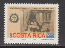 1995 Costa Rica Rotary International Complete Set Of 1 MNH - Costa Rica