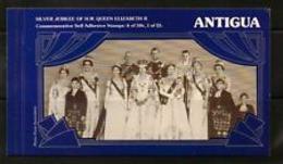90532) Antigua 1977 SG SB1 SILVER JUBILEE LIBRETTO MNH** - Antigua E Barbuda (1981-...)