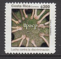 2013 Costa Rica Discrimination Upaep Complete Set Of 1   MNH - Costa Rica