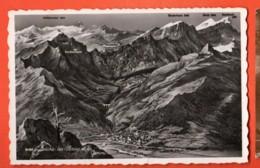 VARR-03 Loèche-les-BAins Et La GEmmi, Panorama Wildstrubel Circulé Perrochet - VS Valais