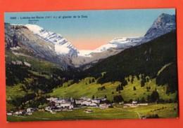 VARR-07 Leukerbad  Loèche-les-Bains Et Le Glacier De Dala. Vue Générale. Non Circulé. SG 1092 - VS Valais