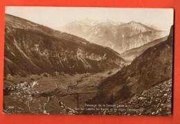 VARR-09 Passage De La Gemmi. Vue Sur Leukerbad  Loèche-les-Bains . SEPIA Non Circulé Perrochet-M. - VS Valais