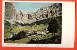 VARR-11 Loèche-les-Bains Et La Gemmi. Précurseur. Non Circulé Mention Au Recto : 17.7.05 - VS Valais