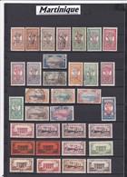 VRAC COLONIES FRANCAISES / MARTINIQUE  / OBLITERATIONS  à Voir- REF MS - Lots & Kiloware (mixtures) - Max. 999 Stamps