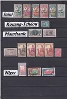 """COLONIES FRANCAISES / DIVERS PAYS  / OBLITERATIONS  à Voir- Liquidation Petit Stock à Saisir"""""""""""""""""""""""""""""""""""" - France (former Colonies & Protectorates)"""