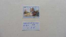 Asie > Tadjikistan :timbre N° 90 Oblitéré - Tadjikistan