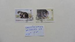 Asie > Tadjikistan :2 Timbres  N° 88/89 Oblitérés - Tadjikistan