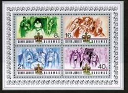 90536) Bahamas 1977 SILVER JUBILEE-BF-MNH** - Bahamas (1973-...)
