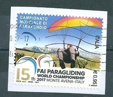 2017  CAMPIONATO PARAPENDIO  USATO - 2011-...: Usati