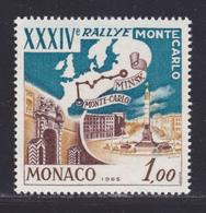 MONACO N°  662 ** MNH Neuf Sans Charnière, TB  (D8280) Rallye Automobile De Monté-Carlo -1964 - Monaco