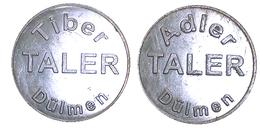 02298 GETTONE TOKEN JETON APOTHEKE TIBER ADLER TALER DULMEN - Allemagne