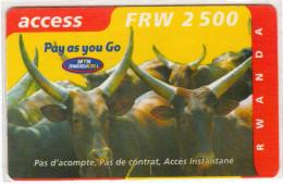 RWANDA PREPAYEE MTN - Rwanda