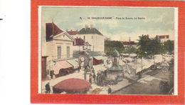 Chalon Sur Saône.Place De Beaune.Le Marché - Chalon Sur Saone
