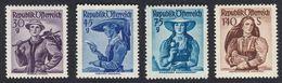 AUSTRIA  OSTERREICH - 1948/1950 - Lotto 4 Francobolli Nuovi MNH: Yvert 743A, 745, 749 E 751A. - 1945-.... 2. Republik