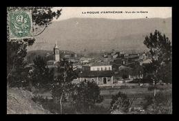 La Roque D'anthéron - Vue De La Gare - PRIX FIXE - Other Municipalities