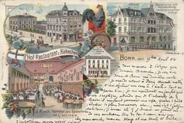 Bonn - Hof-Restaurant Z. Hähnchen - J. Rieck - Bonn