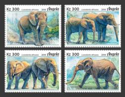 Z08 ANG18119a Angola 2018 Elephans MNH ** Postfrisch - Angola