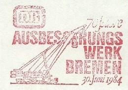 EMA METER FREISTEMPEL GERMANY BREMEN MACHINE MINING BREMEN 1984 AUSSBESSERUNG WERK - Minerals