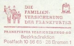 EMA METER FREISTEMPEL GERMANY BREMEN 1978 FAMILY FAMILIEN - Childhood & Youth