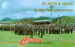 *ST. KITTS & NEVIS - 95CSKA* -  Scheda Usata - Saint Kitts & Nevis
